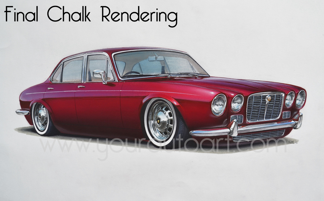 Kuras Custom Renderings Hot Rod Design Services And Illustration